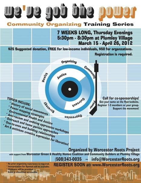 7-Week Community Organizing Training in Worcester, MA | Community Organizing | Scoop.it
