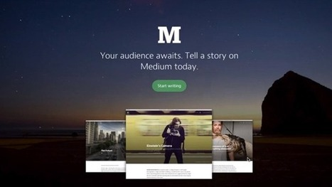 Write and Read Online With Medium | Simple Tips for Teaching with Technology | Scoop.it