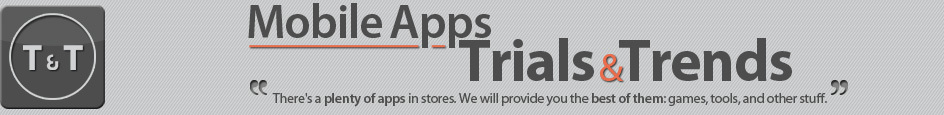 Mobile Apps: trials and trends
