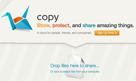 Secure File Sharing and Large File Cloud Storage with Copy | Online Collaboration Tools | Scoop.it