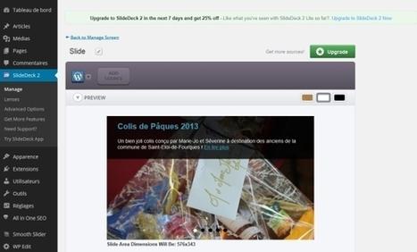 Slidedeck pour un carrousel de posts responsive pour WordPress ! | Informatique | Scoop.it