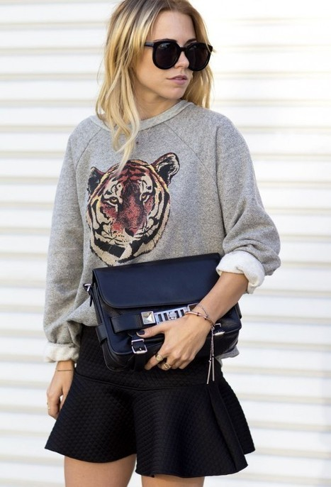 Animal Instincts: The Urban Jungle Street Style Sweater Guide - The LA Fashion magazine | Best of the Los Angeles Fashion | Scoop.it