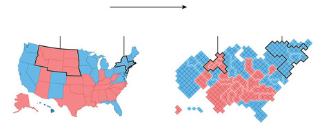Election maps are telling you big lies about small things | Human Geography is Everything! | Scoop.it