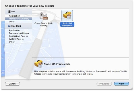 Easyly create your own framework with kstenerud   iPhone and iPad development   Scoop.it