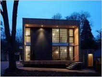 Une maison bois en forme de cube | Autres Vérités | Scoop.it