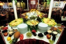 Arranging a buffet table for food and wine be arranging a buffet table for food and wine watchthetrailerfo