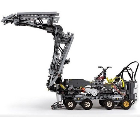 Bridge-building LEGO Robot | Heron | Scoop.it