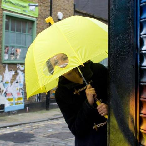 10 Unusual Umbrellas to Shield You From Spring Showers | Radio Show Contents | Scoop.it