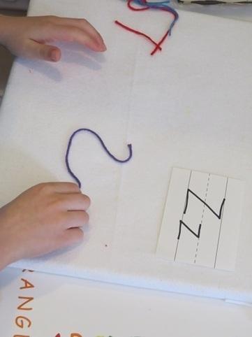 Yarning up letters! | Teach Preschool | Literacia no Jardim de Infância | Scoop.it