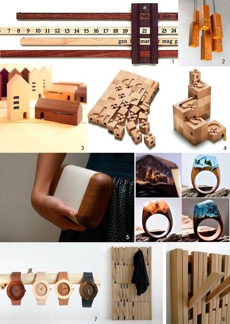 Regalos de madera para estas fiestas | Actualidad forestal cerca de ti | Scoop.it