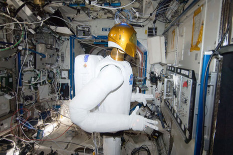 Another day at the office for NASA's robot astronaut - New Scientist | Robot & AI | Scoop.it