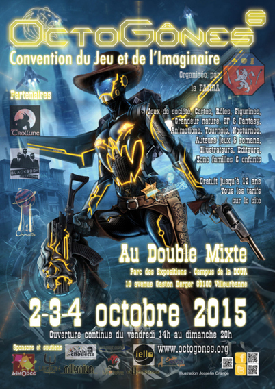 scriiipt : OctoGones – La Convention de l'Imaginaire – Edition 2015 | Inspiration Rôlistique | Scoop.it