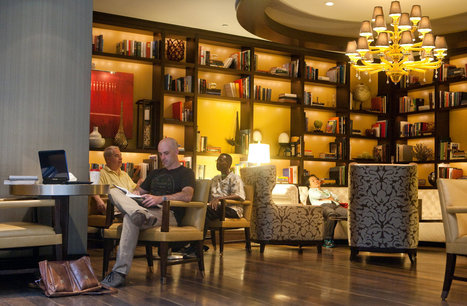 Hotels Add Libraries as Amenity to Keep Guests Inside | Reading discovery | Scoop.it