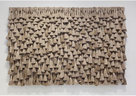 39 art contemporain 39 in tissu d 39 ameublement art textile et papier peint de luxe. Black Bedroom Furniture Sets. Home Design Ideas
