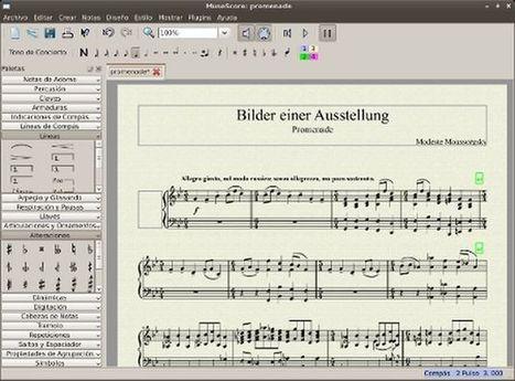 MuseScore, software libre y multiplataforma para notación musical   Leer en la escuela   Scoop.it