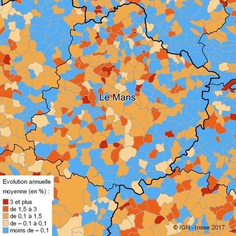 Insee > Sarthe: une croissance démographique faible   Observer les Pays de la Loire   Scoop.it