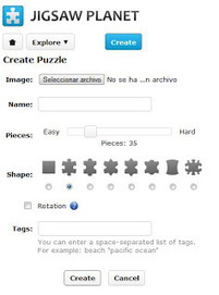 En la nube TIC: CREA PUZZLES GENIALES EN UN PAR DE MINUTOS: JIGSAW PLANET | compaTIC | Scoop.it
