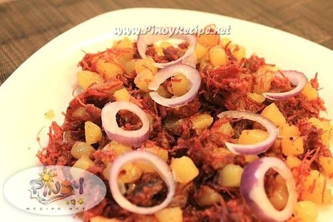 Ginisang Corned Beef Recipe Filipino Food Rec