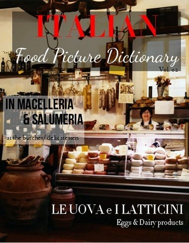 Italian Food Picture Dictionary Vol. 02  - Glossi by Alex Barfuss - Glossi.com | Learn Italian pdf | Scoop.it