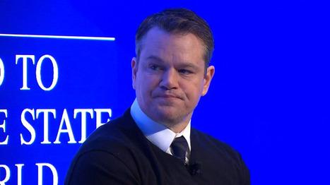 A Davos, le message alarmant de Matt Damon sur l'accès à l'eau potable | Planete DDurable | Scoop.it