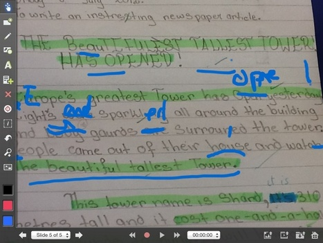 Using the iPad with the writing process | My_eLearning | Scoop.it