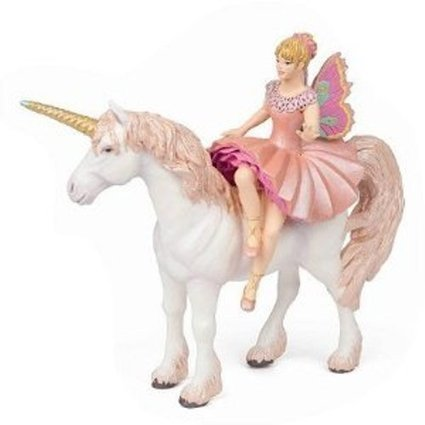 Paint Your Own Mystical Ceramic Keepsake Ella The Fairy and Her Unicorn Stunning Detail