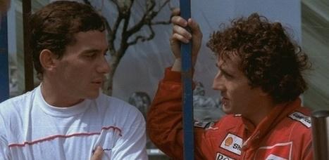 Prost se recusa a ver documentário sobre Senna e reclama dos produtores   esportes   Scoop.it