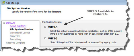 VMFS-5 introduced in vSphere 5 | LdS Innovation | Scoop.it