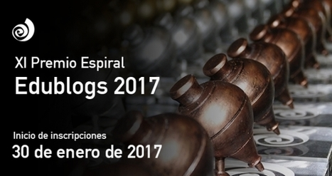 XI Premio Espiral Edublogs 2017 | InEdu | Scoop.it