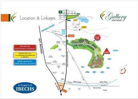 Gulberg Islamabad: Gulberg Greens & Residencia by IBECHS | Islamabad Real Estate | Scoop.it