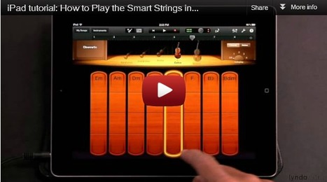 iPad Creative - iPad Creative - An essential GarageBand Smart Strings tutorial video | iPad pilot at King's | Scoop.it