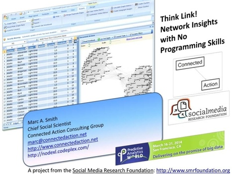 Think Link: Network Insights with No Programming Skills | Social Network Analysis #sna | Scoop.it