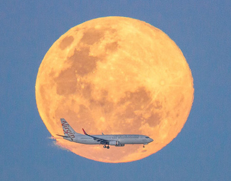How I Shot a Plane Flying Through the Supermoon | Mobile Photography | Scoop.it