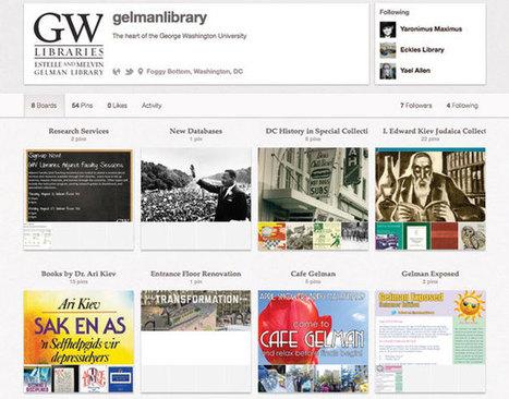 Pinterest : nouvel outil marketing pour les bibliothèques | Trucs de bibliothécaires | Scoop.it