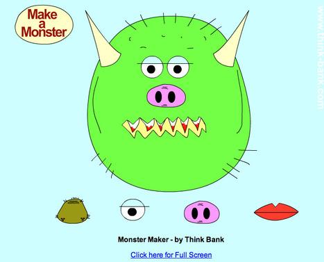 Think Bank Monster Maker | Digital Delights - Avatars, Virtual Worlds, Gamification | Scoop.it