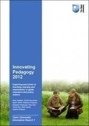 @Ignatia Webs: New, free #report on innovating #pedagogy by Open University UK | Focus On Improvements | Scoop.it