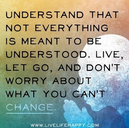 Understand That Not Everything Is Meant To Be U