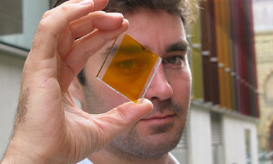 Colourful 'solar glass' means entire buildings can generate clean power | Greener World | Scoop.it