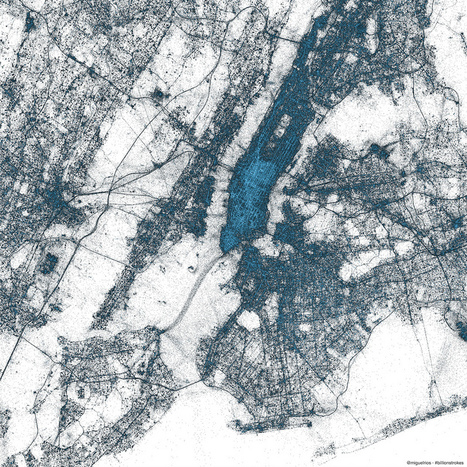 Twitter creates incredible maps using billions of geotagged tweets | Apps and Software | Geek.com | Guerrilla Social Media | Scoop.it