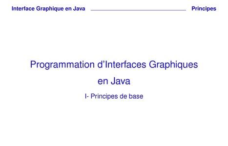 Cours java Partie 2 : les interfaces graphiques en java | Cours Informatique | Scoop.it