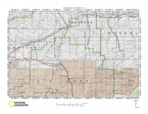 Bighorn River-Tullock Creek drainage divide area landform origins ... | Geographic Information Sciences | Scoop.it