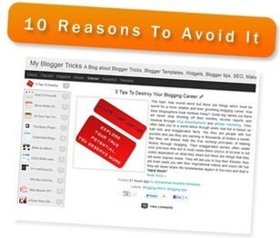 10 Reasons To Avoid Blogger Dynamic Views | Font Lust & Graphic Desires | Scoop.it