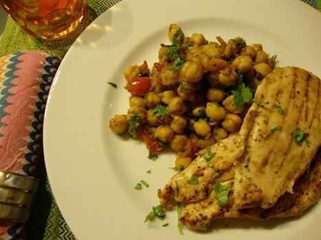 As Minhas Receitas: Frango com Salada de Grão de Bico à Marroquina   Foodies   Scoop.it