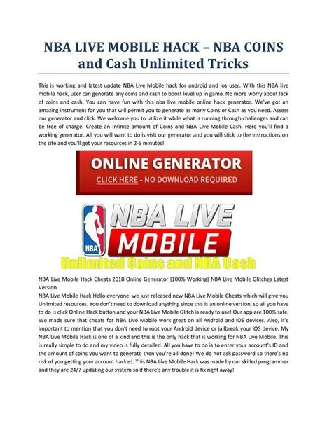 download nba live mobile 19
