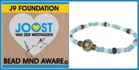 WORLD'S BEST-SELLING BEADED MND/ALS BRACELET | J9 Foundation | TheBeadCo.co.za | #ALS AWARENESS #LouGehrigsDisease #PARKINSONS | Scoop.it