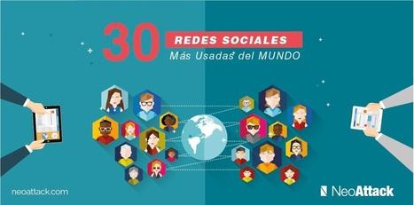 Las 30 redes sociales más usadas del mundo en 2016 - Neoattack | TICE Tecnologías de la Información y las Comunicaciones - TAC (Tecnologías del Aprendizaje y del Conocimiento) | Scoop.it