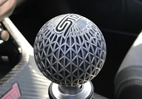 Metal 3D Printing a Shift Knob | 3D Printing and Fabbing | Scoop.it