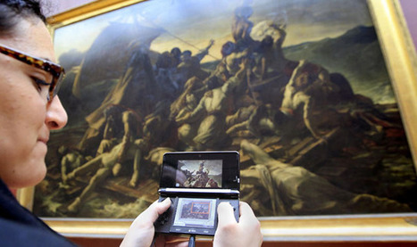 Louvre Goes 21st Century With Nintendo Guide | Living in Paris | Scoop.it
