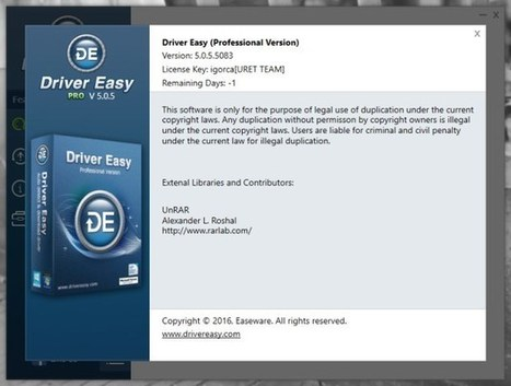 driver easy pro free crack