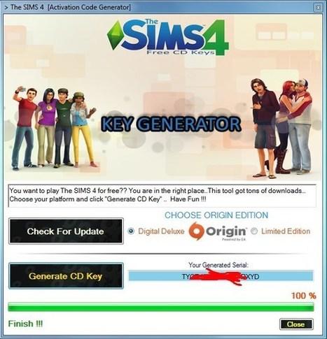 Sims 4 origin key no survey